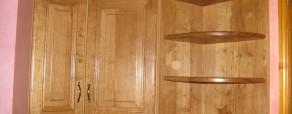 Meuble haut de cuisine en chêne