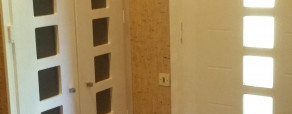 porte de placard laquée