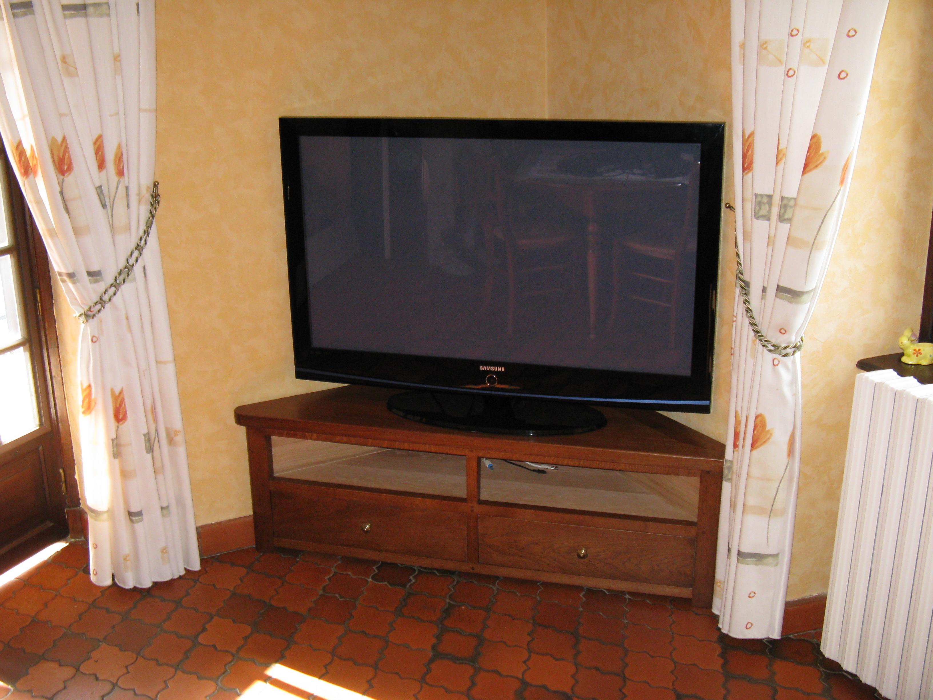 Ebenisterie De Rochely Meubles Tv # Meuble Tv Dangle
